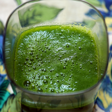 Inner Monologue Of A Person Making A Green Smoothie