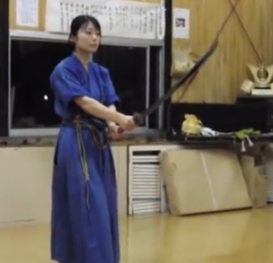 Steel Yourself Because This Cute Japanese Girl Absolutely Slays With Her Sword