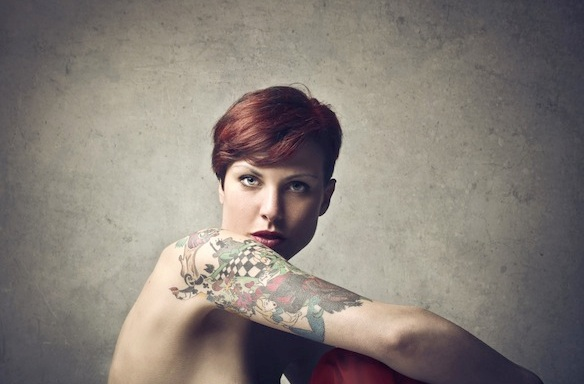 The 6 And Only Tattooed Girls You'll EverMeet