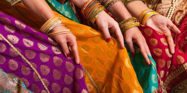 Sometimes Boys Wear Saris,Too