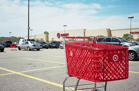 Your Plan Before Entering Target Vs. Your Shopping Cart AfterLeaving