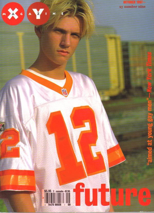 XY Magazine #9 October 1997 Nick Carter