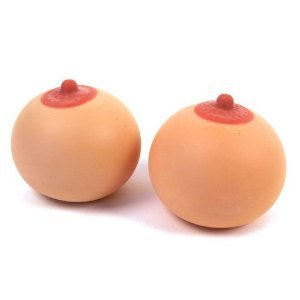 Boobs Stress Balls Set - Tempting tits for squeezing