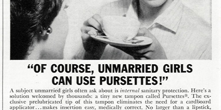13 Vintage Tampon Ads That Are PerfectlyInsane
