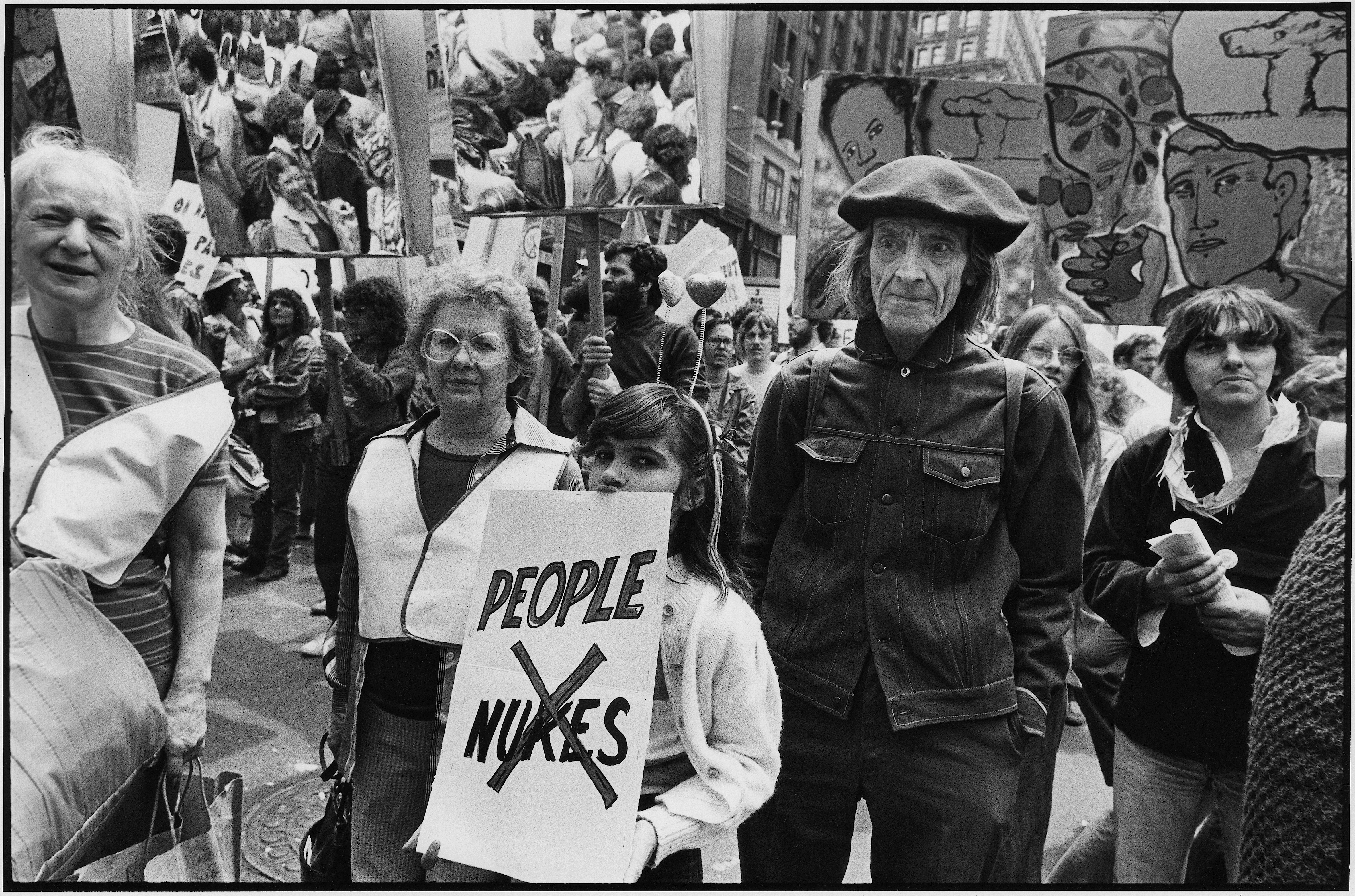 Anti-nuke march, June 12, 1982 Richard Sandler Photography