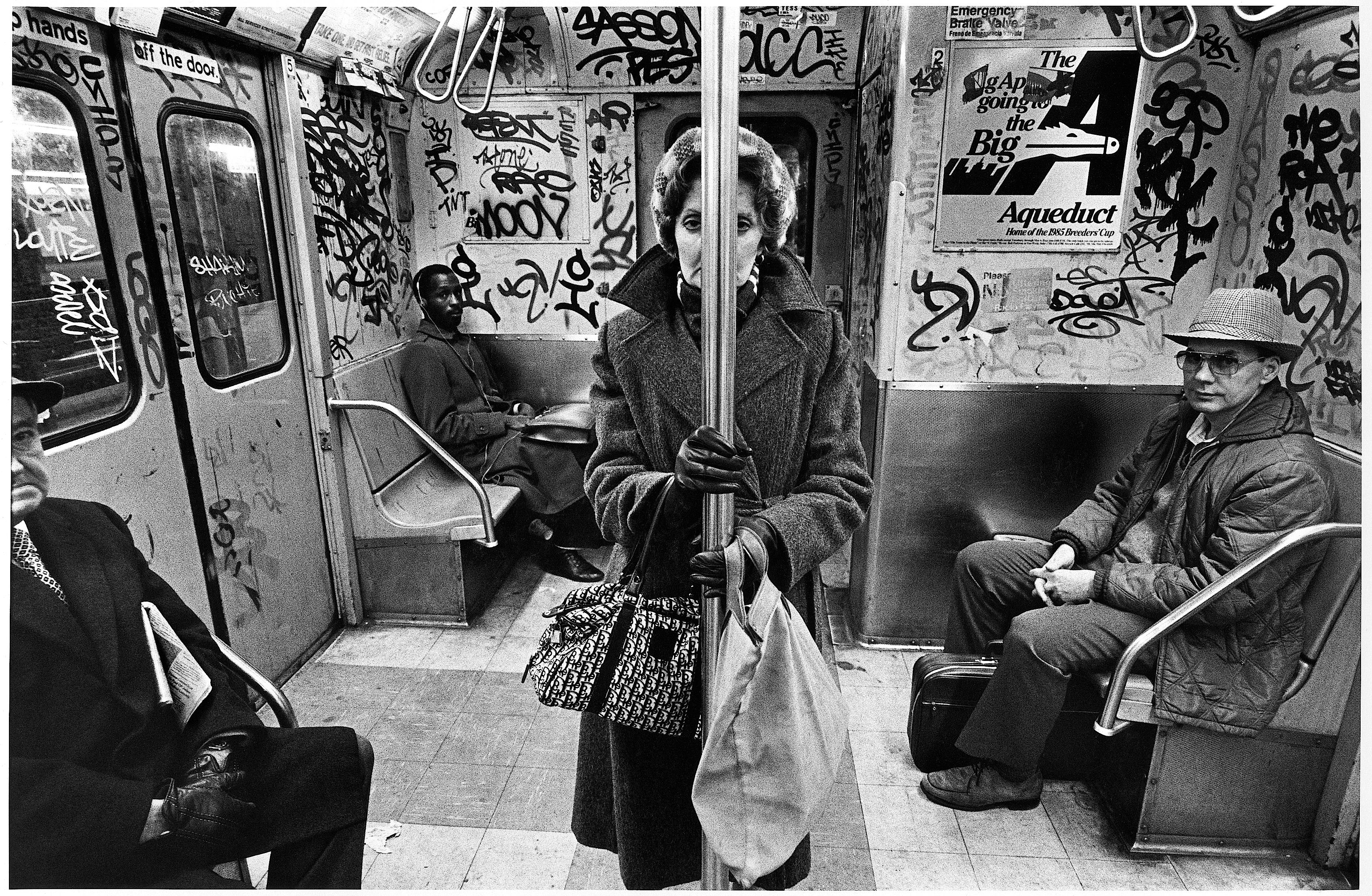 C Train, 1985 Richard Sandler Photography