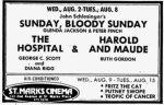early august 1972 triple feature