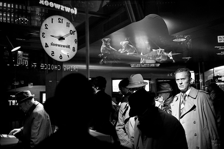 Grand Central Kodak Billboard, 1982 Richard Sandler Photography