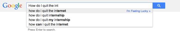 Google, duh, lol