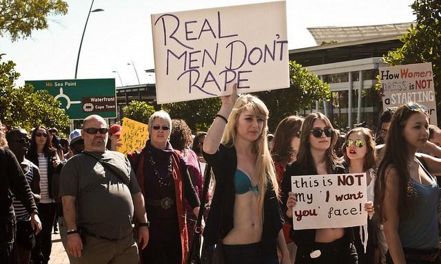 Rape Is A Men'sIssue