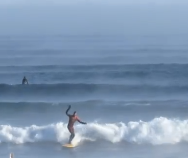It's -13 Degrees In Northern Minnesota And People Are Surfing On Lake Superior