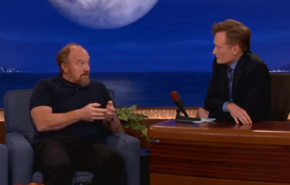 7 Uproarious Louis CK Late Night Television Clips That'll Have You Laughing For Days