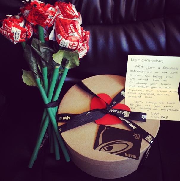 Real romance via Chris Hudspeth's Instagram