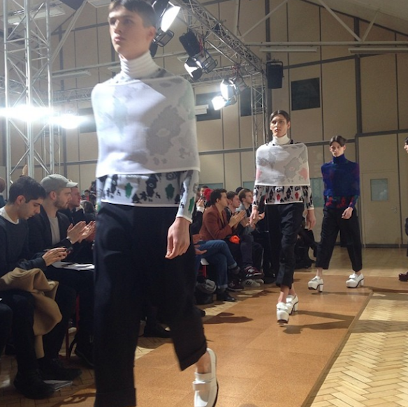 jw_anderson finale for his A/W mens 2014 show last week in London.