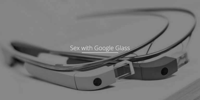 An App To Let You Use Google Glass While Having SexExists