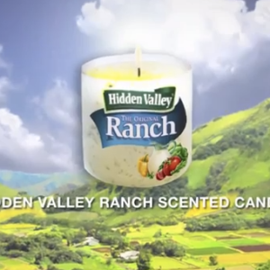 Just In Time For Valentine's Day: Hidden Valley Ranch Scented Candles