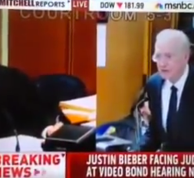 MSNBC Interrupted A Congresswoman To Report On Justin Bieber's Arrest, And The Video Is Beyond Great
