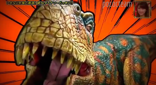 This Velociraptor Chasing After Japanese People Is The Most Hysterical Prank Of AllTime