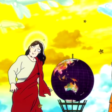 This Anime Of Jesus And Buddha As Roommates Is The Best Things To Have Happened On The Internet