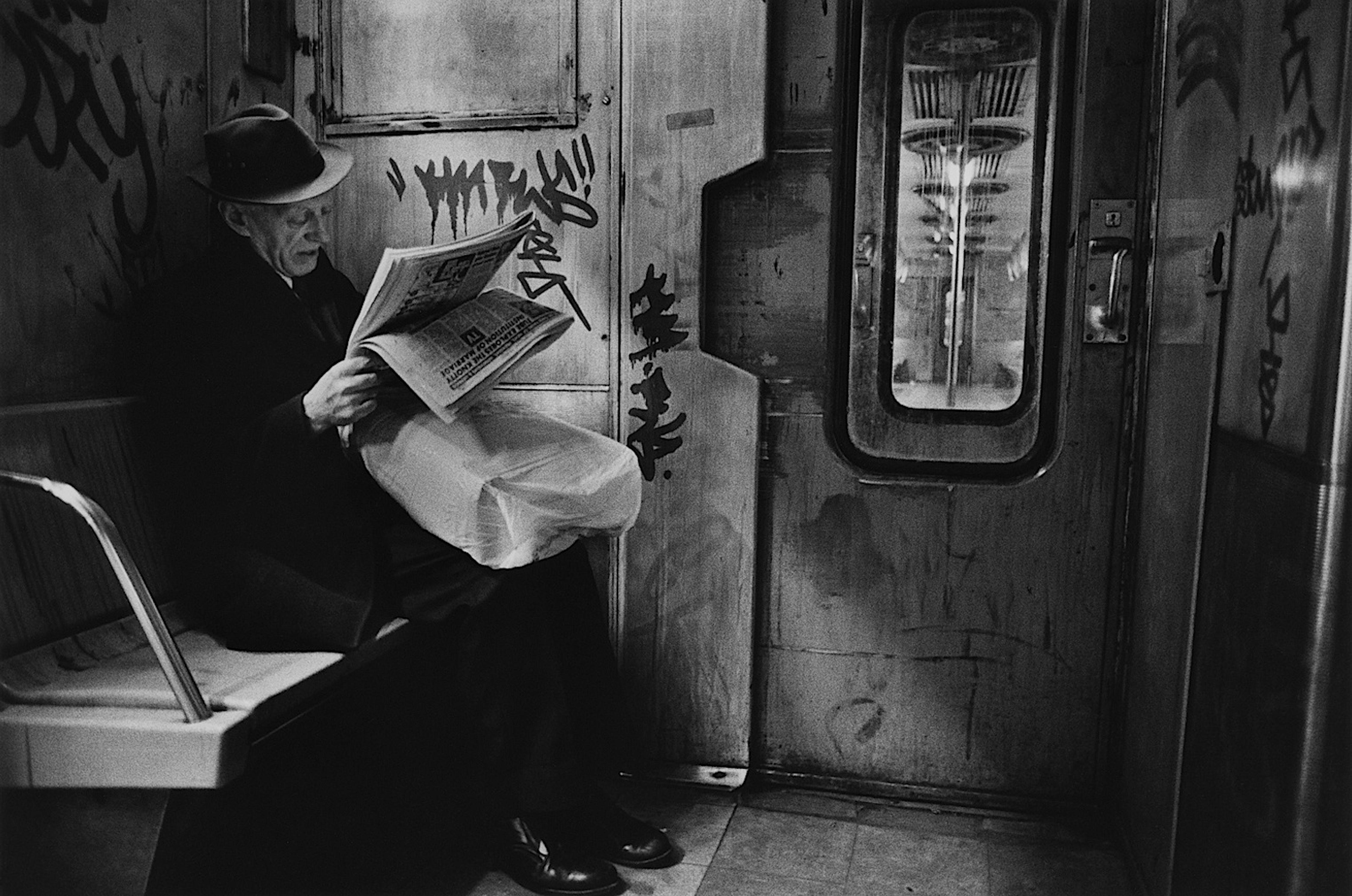 Subway noir, 1987 Richard Sandler Photography