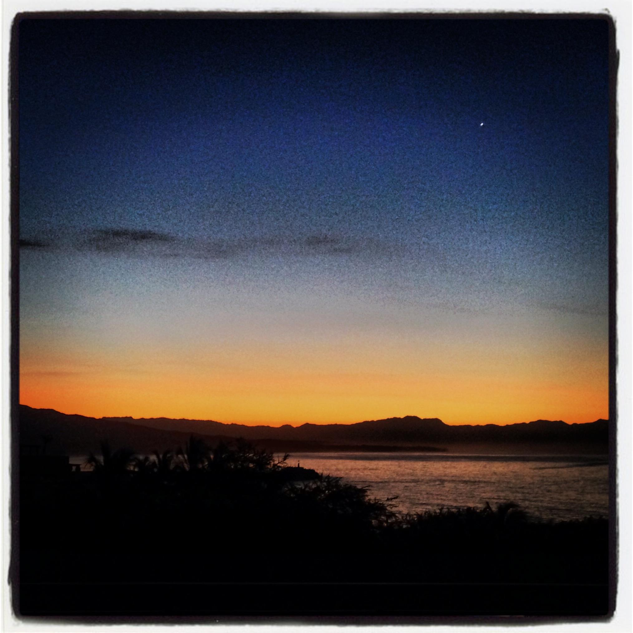 Early morning sun, Punta Mita