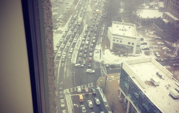 UPDATED: Unbelievable Photos Of What 2 Inches Of Snow Is Doing To Atlanta Right Now
