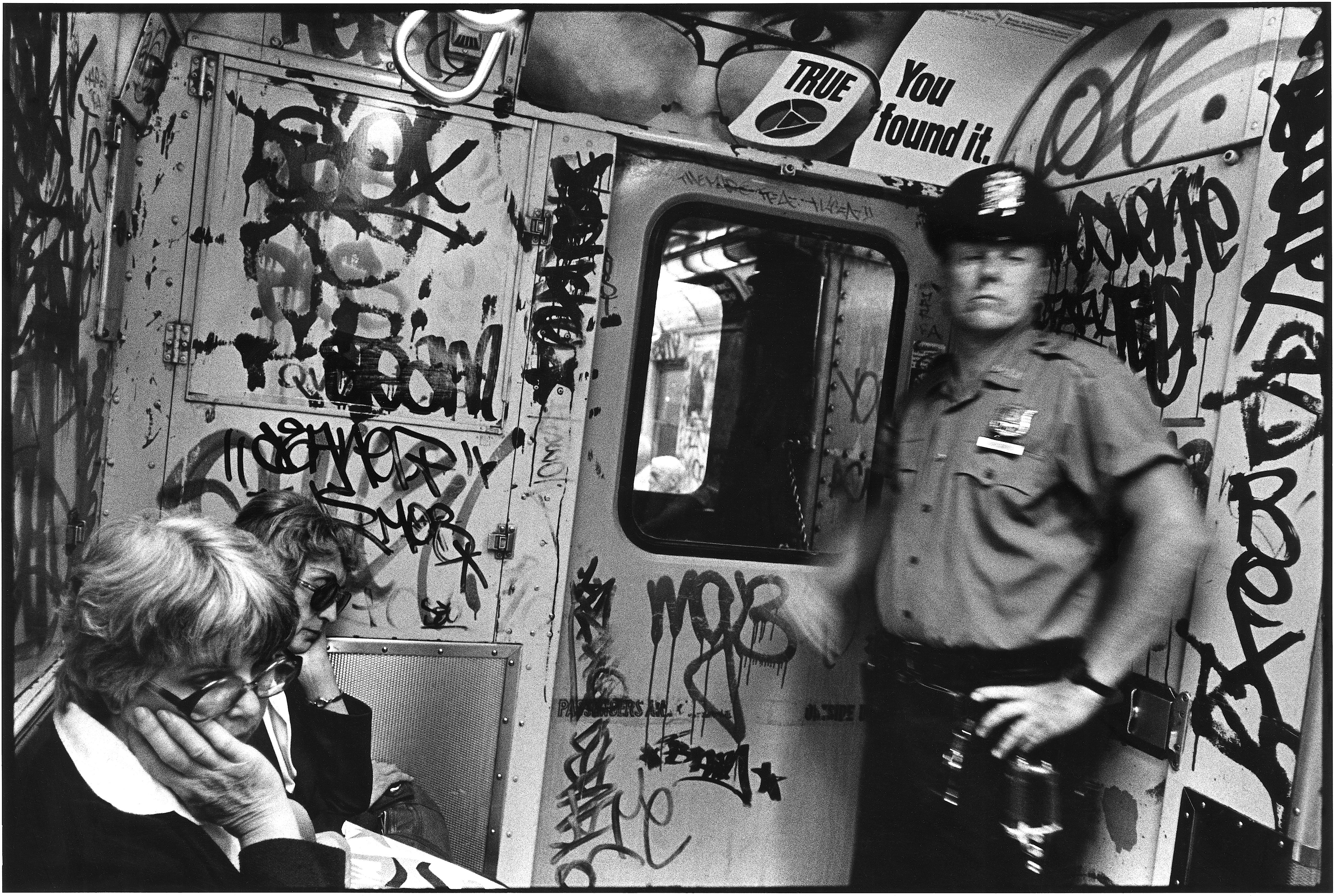 Graffiti subway, 1984 Richard Sandler Photography
