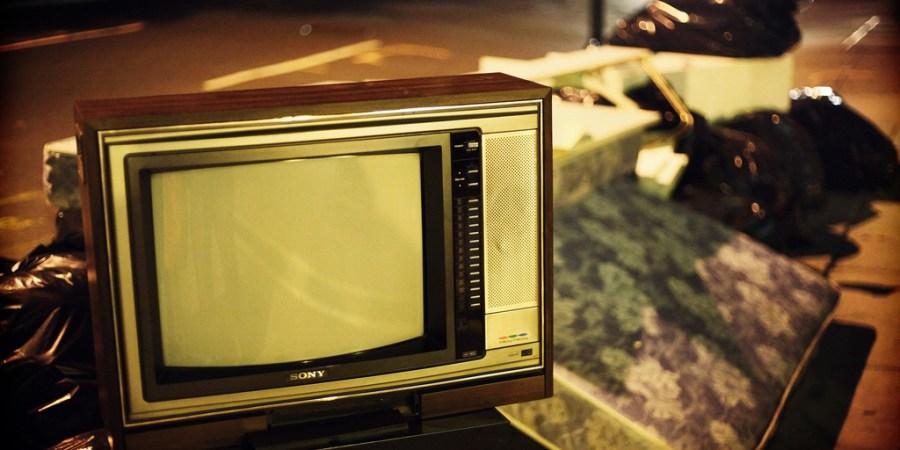 The Night I Threw My TelevisionAway