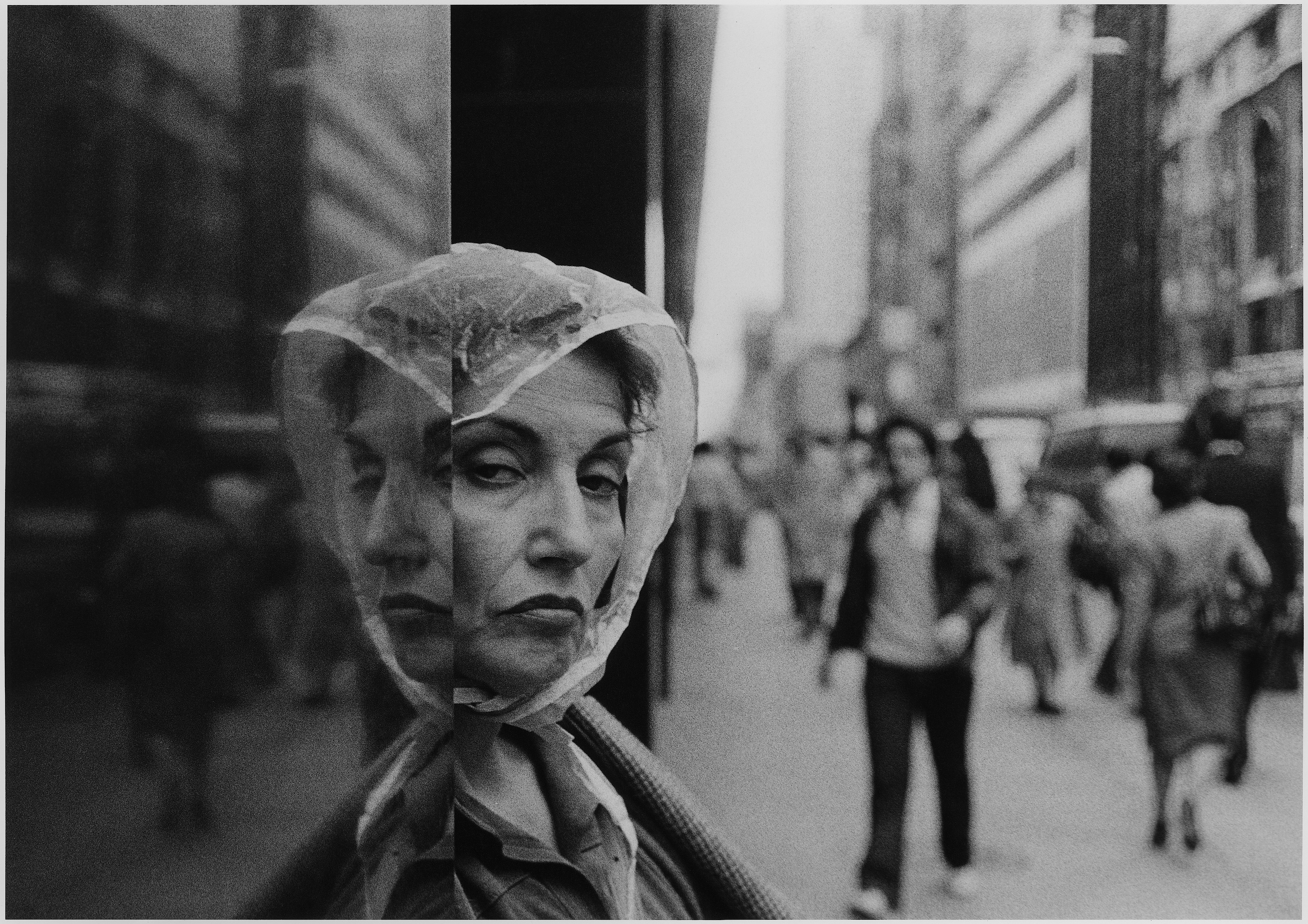 Woman: doubled face, 1984 Richard Sandler Photography