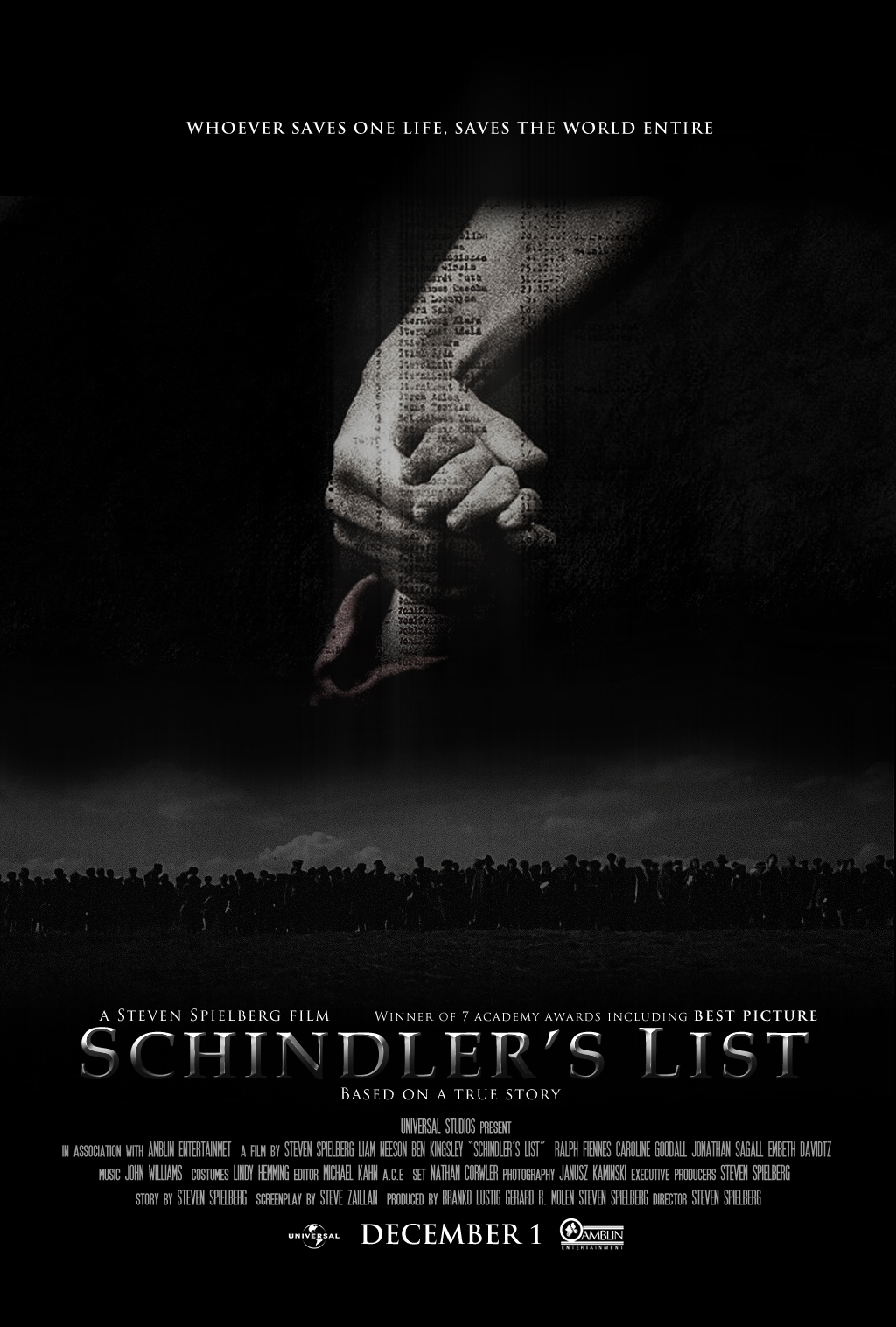 Shindler's List