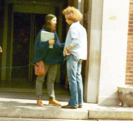 1972 october couple at door