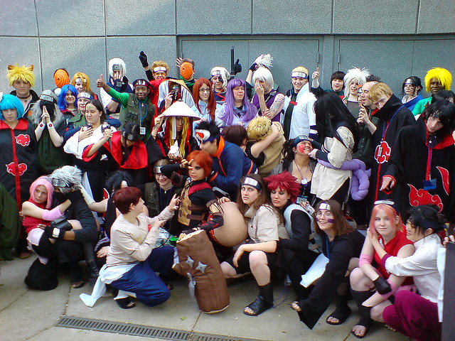 You baka gaijin, we are not dressing up, we are merely participating in a passion of ours.  image - Flickr / metaxin
