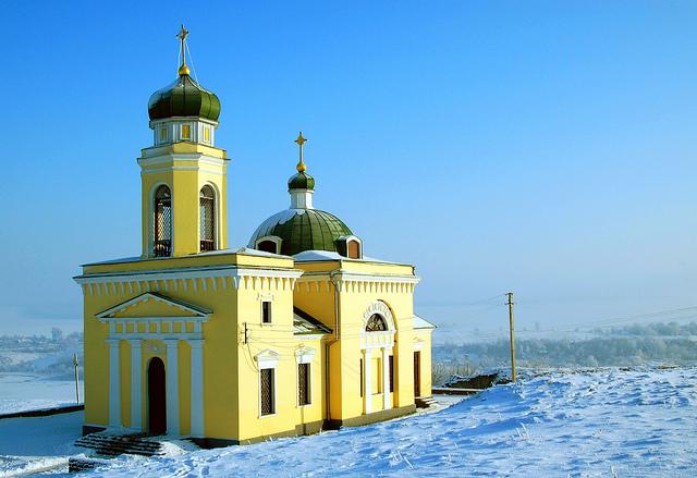 Khotyn Church, Ukraine
