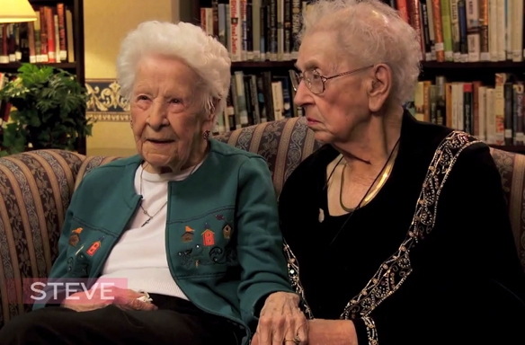 Watch These Adorable, Hilarious Ladies Who've Been BFFs For Almost 100Years