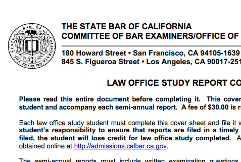 What I Learned About Life From Failing The California BarExam