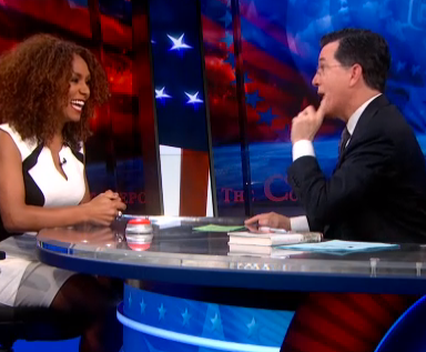 You Need To Know Who Janet Mock Is. Watch Her Colbert Interview And Fall In Love.