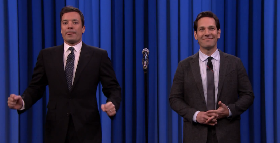 This Video Of Paul Rudd And Jimmy Fallon Lip Syncing Will Stab Your Worries In The Throat