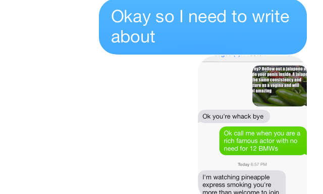 Here's What Texting With A Creepy Guy LooksLike