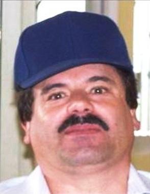 """Photo of Joaquín Guzmán Loera, also known as """"El Chapo Guzmán"""", from El Paso Times,(El Paso, Texas, USA)."""