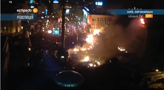 Kiev is on fire
