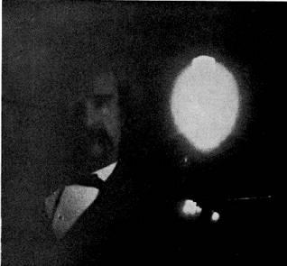 Mark Twain 01-1894 Tesla Lab exposure time 10 minutes 1895-03
