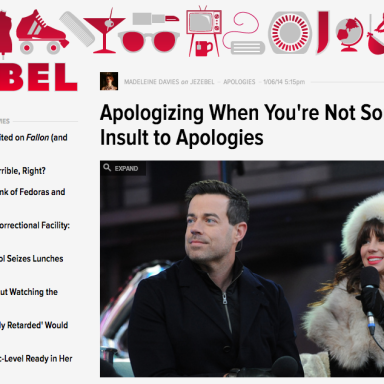 When Is Jezebel Going To Stop Being Offended?