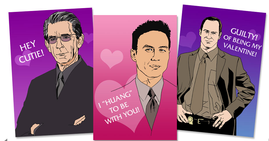 SVU Valentines you can send to your friends! Brandon Bird
