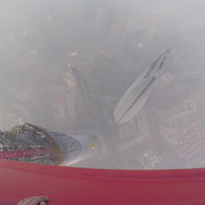 If You Want Your Palms To Start Sweating, Watch These Russians Free-Climb The Shanghai Tower