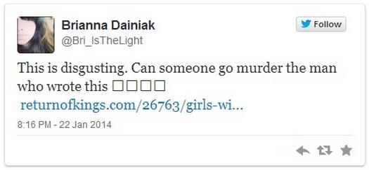 Brianna Dainiak's Twitter