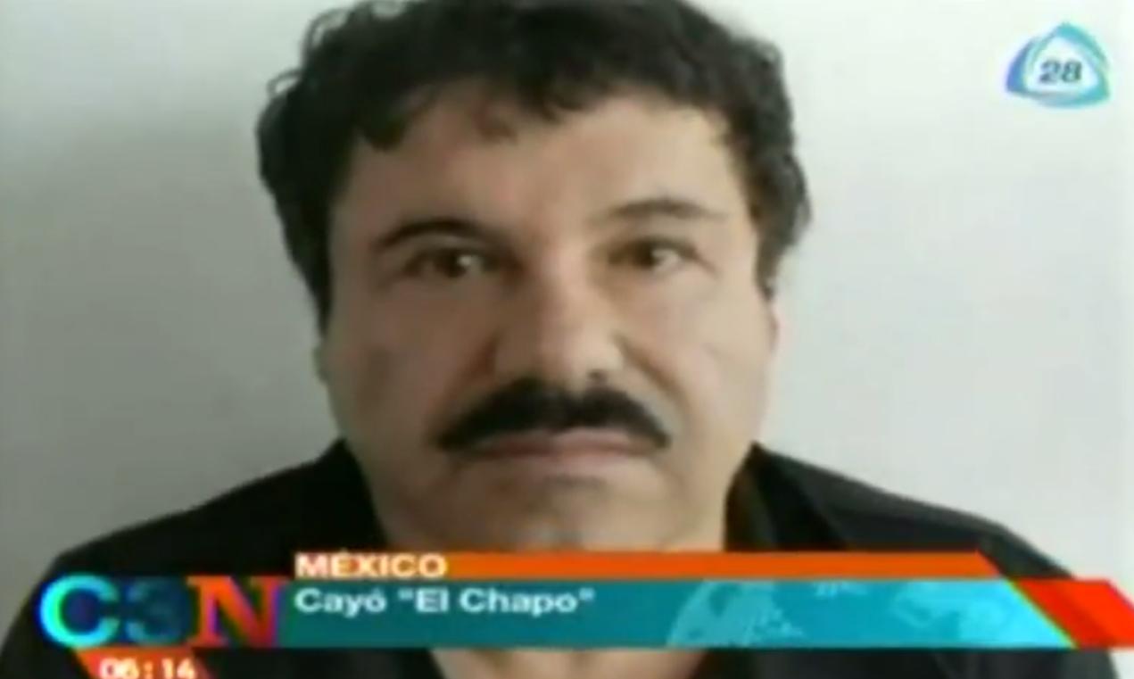 Crónica de la captura de 'El Chapo' Guzmán / Capturan a 'El Chapo' Guzmán, CadenaTres