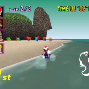 The 15 Best Racing Levels In Mario Kart '64