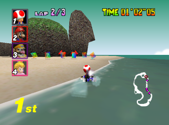 The 15 Best Racing Levels In Mario Kart '64