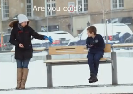 Would You Help This FreezingChild?