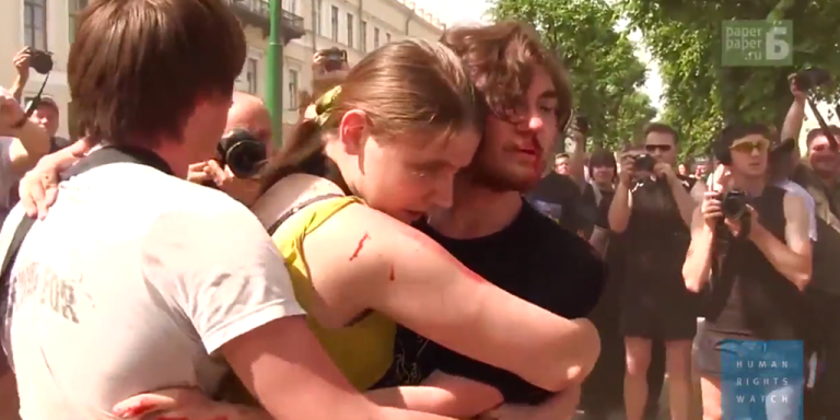 Truly Shocking Video Shows Real Extent Of Brutality Against LGBT InRussia